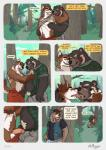 anthro balls bear being_watched canine comic detailed_background hi_res humanoid_penis kissing male male/male mammal outside penis speech_bubble st.boogie  Rating: Explicit Score: 6 User: Pokelova Date: May 05, 2016