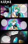 2015 angry changeling comic crying dialogue english_text equine eyes_closed female feral friendship_is_magic fur group hair horn mammal my_little_pony open_mouth pink_fur princess_cadance_(mlp) princess_celestia_(mlp) purple_eyes queen_chrysalis_(mlp) royalty sad tears teeth text vavacung winged_unicorn wings  Rating: Safe Score: 9 User: Robinebra Date: June 25, 2015""