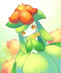 blush female huiro lilligant looking_at_viewer nintendo orange_eyes pokémon solo video_games   Rating: Safe  Score: 2  User: Juni221  Date: January 30, 2014