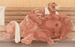 2015 age_difference anthro balls boar boulevard duo erection father father_and_son hair hairy incest male male/male mammal nipples nude parent penis porcine sauna son towel  Rating: Explicit Score: 18 User: Sbemail4500 Date: June 22, 2015