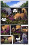 absurd_res adelar_elric anatomically_correct anatomically_correct_genitalia anatomically_correct_penis animal_genitalia animal_penis anus arctic_wolf asonix balls butt canid canine canine_penis canis clothed clothing comic cunnilingus domestic_dog english_text female feral foreplay fur genitals german_shepherd green_eyes group group_sex herding_dog hi_res husky kaerf_(kaerfflow) licking magic male male/female mammal nordic_sled_dog open_mouth oral pastoral_dog pawpads paws penis purple_eyes pussy sage_(kaerfflow) sex spitz superhero superhero_costume superpowers text threesome tongue tongue_out twisted_fate vaginal wolf