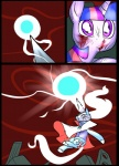 big_eyes blood bright comic crown cutie_mark duo equine feral floating friendship_is_magic glowing hair horn magic mammal metal_(artist) my_little_pony professor_starflare_(metal) rubble scratches twilight_sparkle_(mlp) unicornRating: SafeScore: -1User: IndigoHeatDate: March 25, 2017
