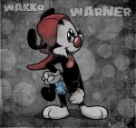 abstract_background animaniacs balls black_fur clothed clothing ekuhvielle fur gloves hat low_res male mammal partially_clothed penis presenting smile solo text tongue tongue_out trunks uncut wakko_warner warner_brothers  Rating: Explicit Score: 1 User: Cimatrie Date: January 01, 2016