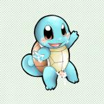 3_fingers 3_toes abstract_background blue_skin blush cum cum_on_face cum_on_hand doneru male nintendo penis pokémon reptile scalie shell simple_background solo squirtle toes turtle video_games