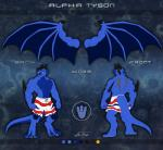 abs absurd_res alpha_tyson anthro bulge clothing dragon feet hi_res male model_sheet muscular pecs scalie shorts soles solo thetigress wings  Rating: Questionable Score: 1 User: SR71BETA Date: April 19, 2016