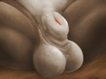 2013 4:3 ambiguous_species animal_genitalia anthro balls close-up crotch_shot digital_media_(artwork) fully_sheathed lizardlars male nude scalie sheath solo spread_legs spreading thick_sheathRating: ExplicitScore: 45User: PeekabooDate: July 19, 2013