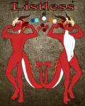animal_genitalia blue_eyes butt claws dragon fur furred_dragon hi_res horn male model_sheet piercing pose red_fur sheath spade_tail toe_claws white_furRating: ExplicitScore: -1User: IDarkhorseDate: August 25, 2017