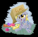2015 box confetti derp_eyes derpy_hooves_(mlp) equine female friendship_is_magic mammal my_little_pony pegasus sketchyjackie solo wings  Rating: Safe Score: 7 User: 2DUK Date: November 22, 2015