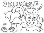 all_fours bark!_(artist) black_and_white diaper english_text feline lion looking_at_viewer low_res male mammal monochrome name_badge pen_(artwork) solo text traditional_media_(artwork) young  Rating: Safe Score: 0 User: treos Date: April 26, 2015