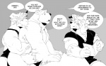 2015 anthro bear biceps big_muscles canine chest_tuft comic fluffy fur joey_(kokuhane) kokuhane male mammal muscular muscular_male polar_bear roland_(kokuhane) text tuft  Rating: Questionable Score: 4 User: Vallizo Date: October 10, 2015
