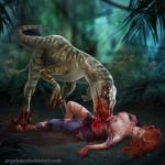 blood breasts brutal carnivore death dino_crisis dinosaur duo female gore hard_vore herd hi_res human hunting jungle mammal nude prywinko raptor reptile scalie snuff vore  Rating: Explicit Score: 7 User: JennaLovesKate Date: October 11, 2015