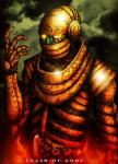 alien cybernetics cyborg fire gears glowing glowing_eyes gold_armor golem gore humanoid intestines looking_at_viewer machine not_furry steampunk the-last-phantom yellow_scleraRating: QuestionableScore: 1User: Guil-The-HedgehogDate: April 03, 2018