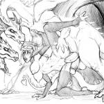 anal anal_penetration balls blush breasts claws cum cum_drip cum_in_pussy cum_inside cum_on_ground dragon dripping drooling female feral fleatrollus hydra interspecies male male/female mammal multi_head multi_penis one_leg_raised open_mouth orgasm penetration penis pussy saliva sex sharp_teeth teeth tongue tongue_out troll vaginal vaginal_penetration video_games warcraftRating: ExplicitScore: 3User: HeteroxonDate: July 25, 2017