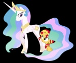 2015 alpha_channel dm29 duo equestria_girls equine female feral friendship_is_magic horn mammal my_little_pony plain_background princess_celestia_(mlp) sunset_shimmer_(eg) transparent_background unicorn winged_unicorn wings  Rating: Safe Score: 5 User: Robinebra Date: May 18, 2015""