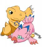 agumon avian bdsm bird biyomon bondage bound digimon dinosaur duo female male spanking spanking649   Rating: Questionable  Score: 6  User: The_Gazi_Pack  Date: April 02, 2015