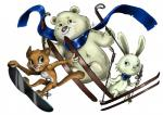 anthro bear blue_eyes feline female green_eyes hare lagomorph leopard male mammal mascot olympics overweight polar_bear rabbit skiing snow_leopard snowboard sochi_2014_olympics sporty   Rating: Safe  Score: 2  User: xes  Date: February 10, 2014