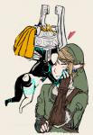 caericanvas duo female human humanoid imp link male mammal midna not_furry the_legend_of_zelda twilight_princess video_games   Rating: Safe  Score: 5  User: WhiteWhiskey  Date: January 15, 2015