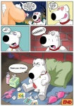<3 anthro balls breasts brian_griffin canine clothing collar comic dialogue english_text erection family_guy female gundam888 human lois_griffin male mammal masturbation milf mother nipples nude parent penis sweat text tongue tongue_out underwear whipped_cream  Rating: Explicit Score: 6 User: Pasiphaë Date: July 31, 2015