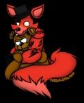 animatronic anthro bear blue_eyes eye_patch eyewear five_nights_at_freddy's foxy_(fnaf) glowing glowing_eyes hat machine male mammal mechanical robot rons13_(artist) top_hat video_games yellow_eyes   Rating: Safe  Score: 4  User: Kario-xi  Date: May 02, 2015