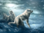 ambiguous_gender canine cool_colors crouching footprints group kneeling lhuin mammal outside sitting snow werewolf_calendar wolf yellow_eyesRating: SafeScore: 16User: Furrys_R_UsDate: September 07, 2012