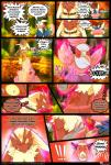 ambiguous_gender amphibian anthro avian bird blaziken collar comic dialogue digital_media_(artwork) english_text fire greninja hi_res male mega_stone nintendo open_mouth outside pokémon redimplight spritzee standing teeth text tongue video_games  Rating: Safe Score: 4 User: Vetom Date: January 09, 2015