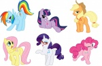 applejack_(mlp) blonde_hair blue_eyes blue_fur butt cowboy_hat cutie_mark darkpandax earth_pony equine eyeshadow eyewear female feral fluttershy_(mlp) friendship_is_magic fur glasses green_eyes group hair hat horn horse looking_back makeup mammal multicolored_hair my_little_pony one_eye_closed open_mouth orange_fur pegasus pink_fur pink_hair pinkie_pie_(mlp) pony presenting purple_eyes purple_fur purple_hair rainbow_dash_(mlp) rainbow_hair rarity_(mlp) simple_background smile suggestive twilight_sparkle_(mlp) two_tone_hair unicorn white_background white_fur wings wink yellow_fur  Rating: Questionable Score: 21 User: anthroking Date: April 19, 2013
