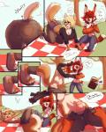 anthro banana breasts butt clothing comic dickgirl english_text eyewear feline female food fruit gender_transformation glasses grapes intersex lynx mammal penis picnic picnic_basket rodent squirrel stilettopink text torn_clothing transformation watsup   Rating: Explicit  Score: 29  User: Arkham_Horror  Date: April 03, 2015