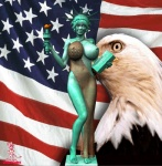 3d america american_flag avian bald_eagle big_breasts bird breasts chup@cabra eagle female feral huge_breasts human inanimate inanimate_object looking_at_viewer nipples real sculpture statue statue_of_liberty torch what   Rating: Questionable  Score: -3  User: Robinebra  Date: July 25, 2012