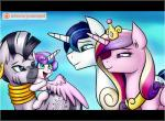 2016 cute equine female feral flurry_heart_(mlp) friendship_is_magic group horn jcosneverexisted male mammal my_little_pony princess_cadance_(mlp) shining_armor_(mlp) spoiler unicorn winged_unicorn wings zebra zecora_(mlp)  Rating: Safe Score: 12 User: Robinebra Date: January 29, 2016