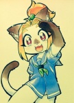 cat chibi clothing cub feline female mammal odawara1231 salute school_uniform siamese simple_background solo young  Rating: Safe Score: 6 User: DSR1337 Date: August 23, 2015