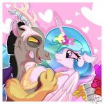 absurd_res discord_(mlp) draconequus duo equine eye_contact fangs female feral friendship_is_magic hi_res horn male mammal my_little_pony open_mouth princess_celestia_(mlp) smile winged_unicorn wings xwhitedreamsx  Rating: Safe Score: 5 User: Robinebra Date: June 28, 2014