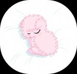 bed bed_sheet earth_pony equine eyes_closed fan_character female fluffle_puff fluffy friendship_is_magic fur horse lying mammal my_little_pony pony sleeping solo text tongue vector  Rating: Safe Score: 5 User: RebeccaShy Date: June 05, 2015""