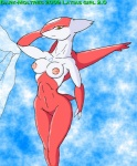 2009 anthro breasts dark-moltres female latias legendary_pokémon looking_at_viewer nintendo pokémon solo video_games yellow_eyes  Rating: Explicit Score: 3 User: Untamed Date: September 23, 2015