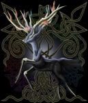 ambiguous_gender antlers black_fur blue_eyes blue_fur cervine digital_media_(artwork) feral fur horn jumping legendary_pokémon mammal nintendo pokémon solo video_games xerneas  Rating: Safe Score: 4 User: Moulin_Rouge Date: March 23, 2016