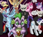 applejack_(mlp) blood blue_feathers blue_fur chain cobra_mcjingleballs dragon earth_pony equine feathers female feral fluttershy_(mlp) friendship_is_magic fur gore group hair hellraiser horn horse humor male mammal multicolored_hair my_little_pony pegasus pinhead pinkie_pie_(mlp) pony purple_fur purple_hair rainbow_dash_(mlp) rainbow_fur rainbow_hair rarity_(mlp) scalie spike_(mlp) torture twilight_sparkle_(mlp) two_tone_hair unicorn what wings  Rating: Questionable Score: -16 User: Sods Date: July 20, 2013
