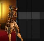 "alien alorix butt fan_character female mass_effect not_furry nude octharious revvi solo turian video_games  Rating: Explicit Score: 9 User: Alorix Date: July 01, 2015"""