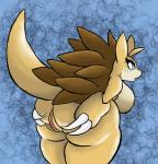 2018 absurd_res anthro big_breasts big_butt blue_eyes bork breasts butt claws digital_media_(artwork) embarrassed female hi_res looking_at_viewer nintendo open_mouth pokémon pokémon_(species) presenting presenting_hindquarters pussy sandslash sharp_claws simple_background solo spreading thick_thighs video_games voluptuous wide_hipsRating: ExplicitScore: 19User: BorkDate: February 23, 2018