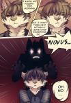 """2015 adrian alpha_knows_best clothing comic duo english_text feline leopard lol_comments male mammal novus scared snow_leopard tanks text  Rating: Safe Score: 10 User: Shadow1128 Date: June 30, 2015"""""""