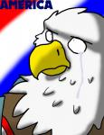 2015 absurd_res ambiguous_gender anthro avian bald_eagle bird clothed clothing crying digital_media_(artwork) eagle english_text feathers hi_res janith reaction_image redgreenfluffball simple_background solo tears text toony united_states_of_america  Rating: Safe Score: 1 User: RedGFB Date: December 17, 2015