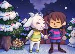 ambiguous_gender animal_crossing asriel_dreemurr brown_hair caprine child crossover crying eyes_closed flower flowey_the_flower goat group hair house human mammal nintendo plant protagonist_(undertale) sandopoliszone smile snow snowman tears tree undertale video_games young  Rating: Safe Score: 8 User: ROTHY Date: October 04, 2015