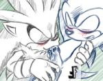 blush cum cum_in_mouth cum_inside eyes_closed fakerface male open_mouth oral penis silver_the_hedgehog sonic_(series) sonic_the_hedgehog  Rating: Explicit Score: 0 User: Untamed Date: August 30, 2015