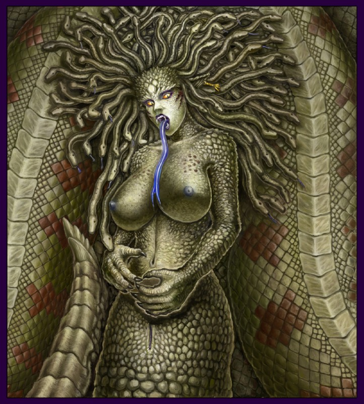 Sexy Medusa Nude Gif