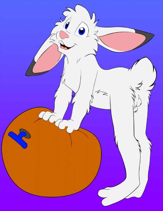 e621 animal_genitalia anthro cub fully_sheathed hi_res jake_cottontail lagomorph male mammal mizzyam nude quiet269 rabbit sheath shota solo young