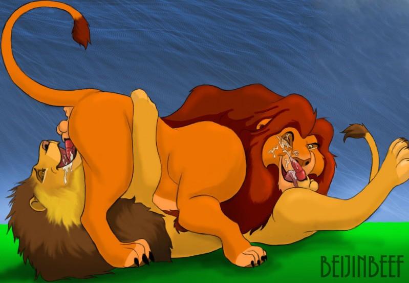 climax lion king sex