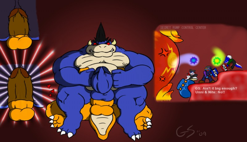 Naked Bowser Pictures 23