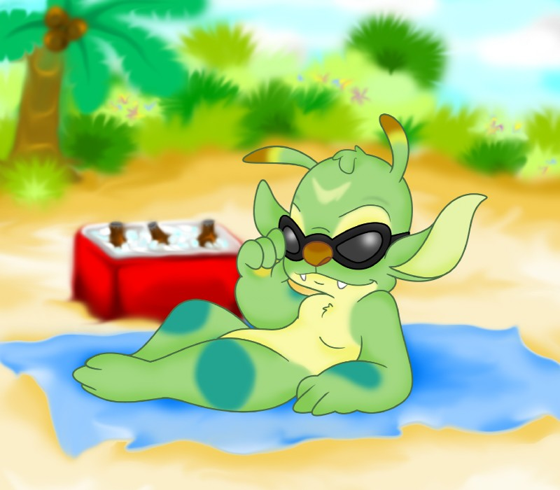 Beach Blanket Experiment: #1212540: Littletiger488