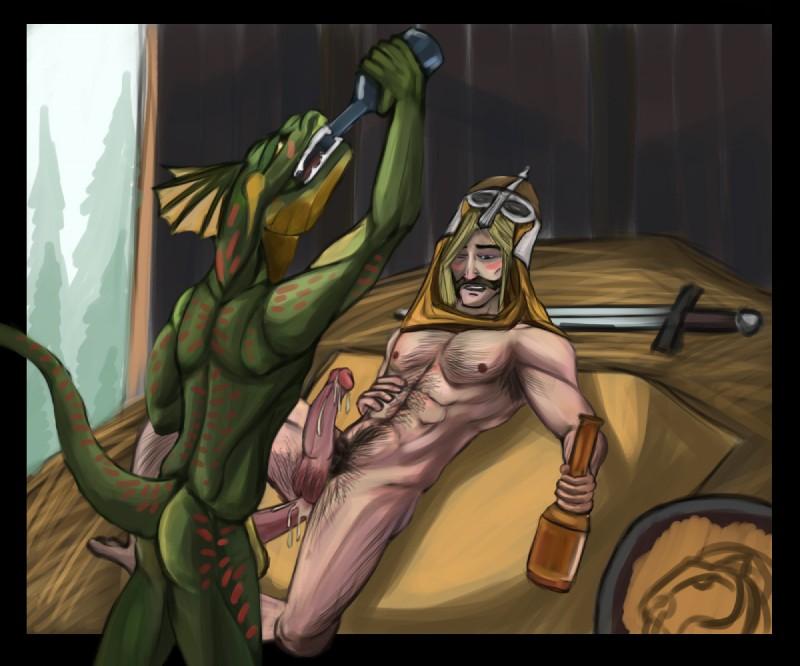 Gay Argonian Porn