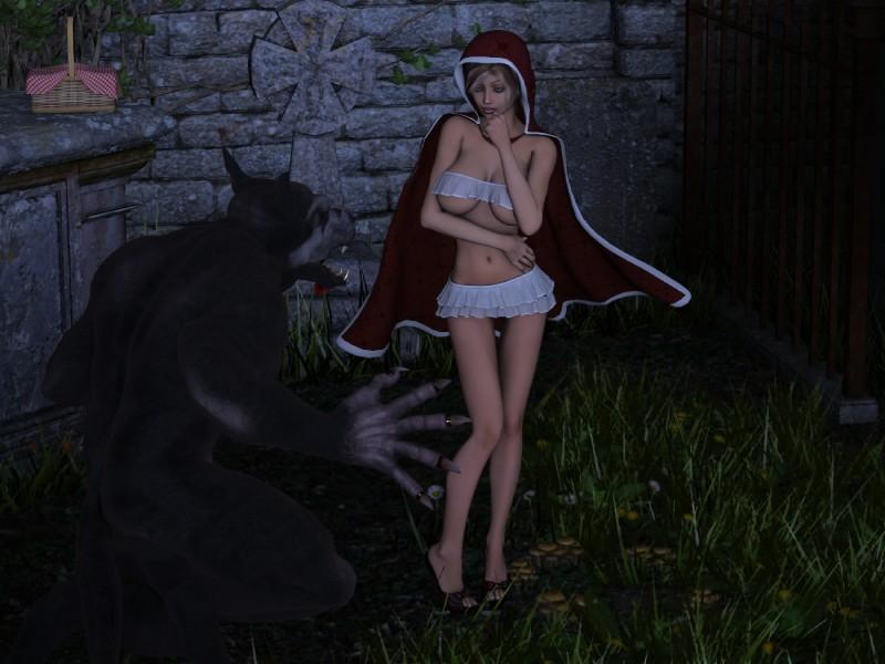 girl fucking bad wolf