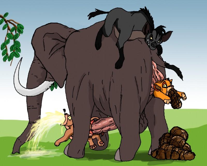 Elefant Porn