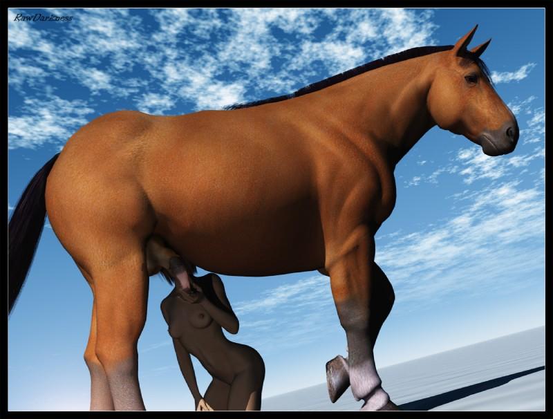 3d horse sex